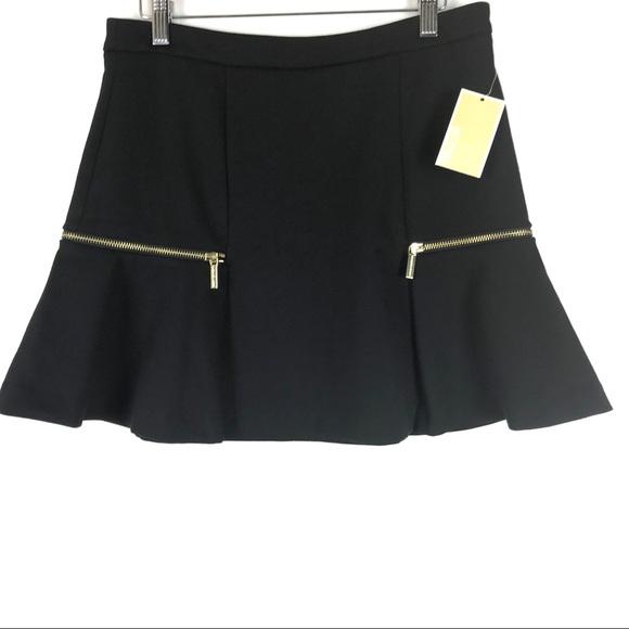 MICHAEL Michael Kors Dresses & Skirts - NEW Michael Kors A Line Mini Skirt Size 4 Black